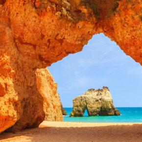 In Portugal am Traumstrand: 8 Tage Algarve mit 3* Hotel & Flug nur 103€