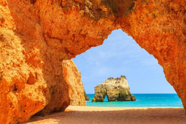 Portugal Algarve Klippe