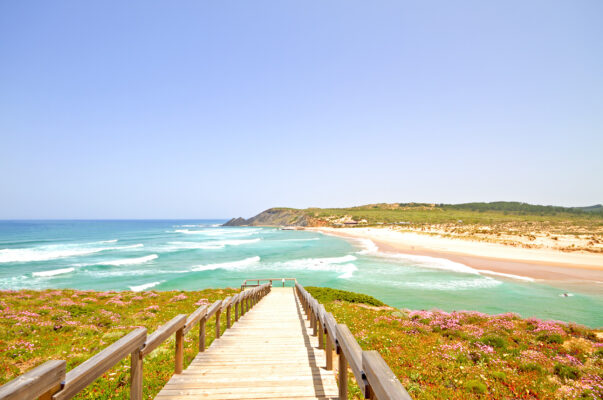 Portugal Algarve Praia Amoreira