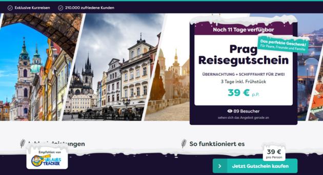 Prag Hotelgutschein