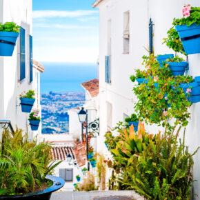 Urlaub an der Costa del Sol: 7 Tage Spanien im TOP 3* Hotel mit All Inclusive, Flug, Transfer & Zug nur 345€