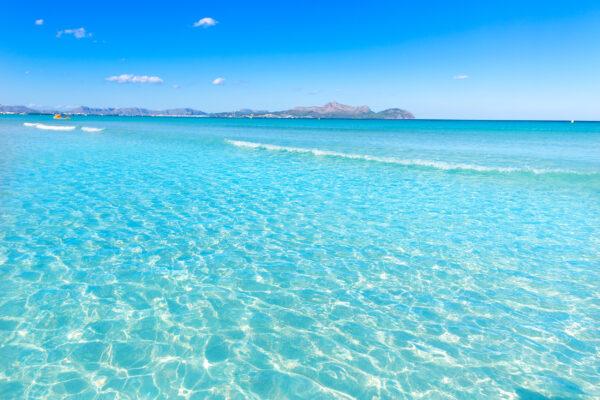 Spanien Mallorca Can Picafort Wasser