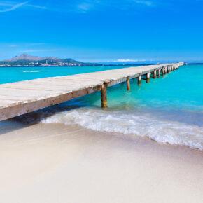 Die Sonne wartet: 7 Tage Mallorca im TOP 4* Hotel mit Halbpension, Flug, Transfer & Zug für 450€