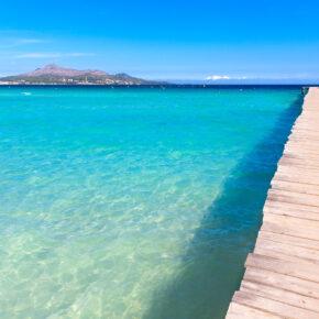 Familienurlaub Sommerferien: 7 Tage Mallorca im 3* Hotel mit All Inclusive, Flug, Transfer & Zug nur 423€