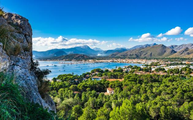 Spanien Mallorca Port de Pollenca