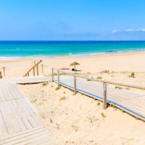 Ab nach Spanien: 8 Tage Costa de la Luz mit Apartment & Flug nur 161€