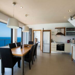 Strandvilla Lefkada Küche