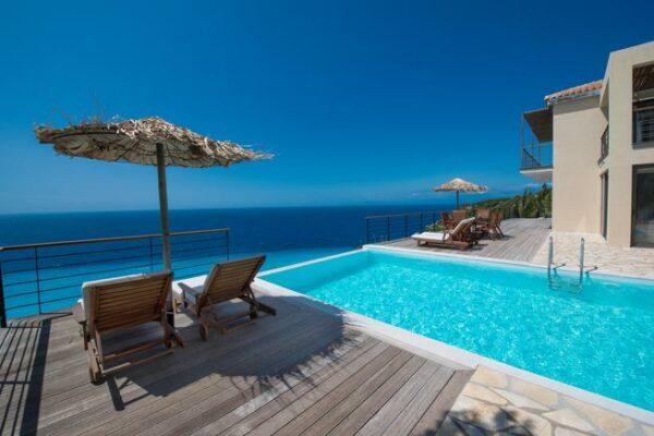 Strandvilla Lefkada Pool