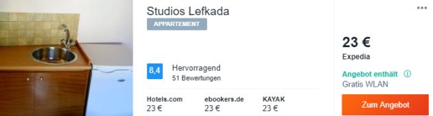 Studios Lefkada