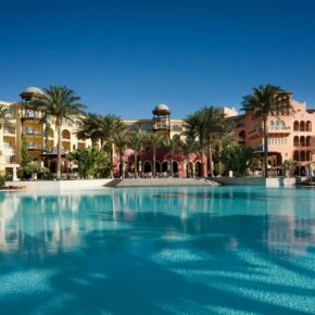 Single im SOMMER: 7 Tage im 5* Grand Resort Hurghada mit All Inclusive, Flug & Transfer nur 460€