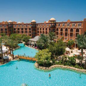 Familienurlaub: 7 Tage im 5* Grand Resort Hurghada mit All Inclusive, Flug & Transfer nur 363€