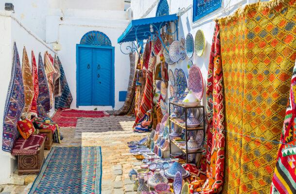 Tunesien Sidi Bou Said Markt