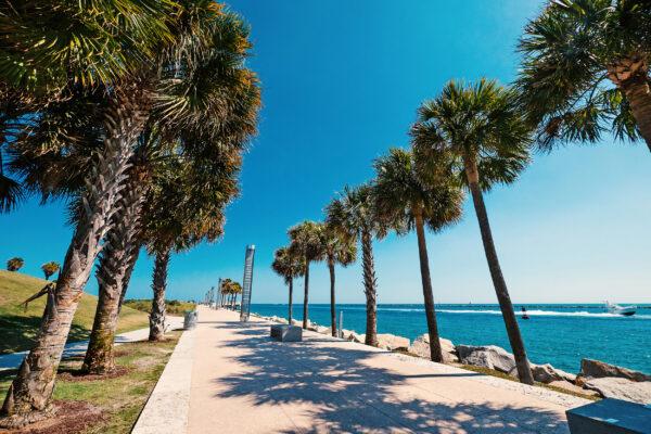 USA Florida Miami Strandpromenade