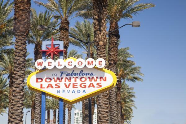USA Las Vegas Nevada Sign