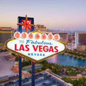 USA Las Vegas Welcome Sign