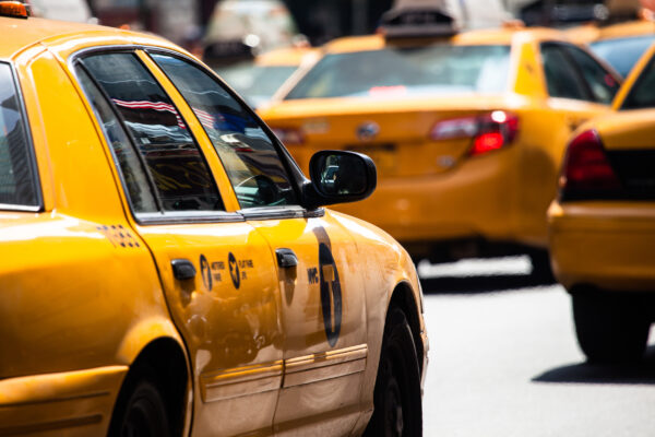 USA New York Manhattan Cabs