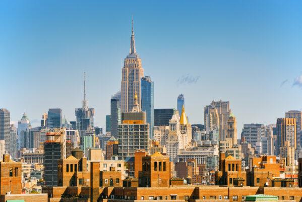 USA New York Manhattan East River