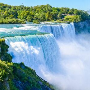 Die Niagarafälle: Wunderschöne Naturgewalten zwischen Kanada & den USA