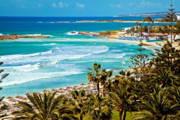 Zypern Küstenabschnitt