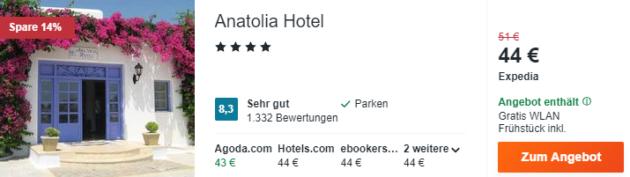 8 Tage Mykonos Hotel