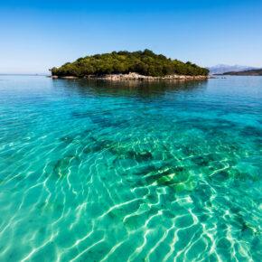 Albanien Ksamil Beach