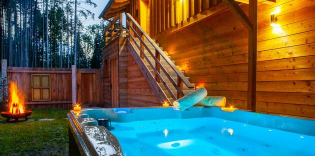 Bayern Chalets Ainring Whirlpool