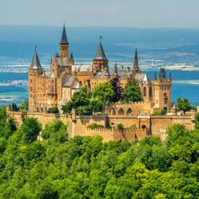 Kurztrip Gutschein: 3 Tage im TOP 3* Hotel mit Frühstück & Rabatt für die Burg Hohenzollern nur 55€