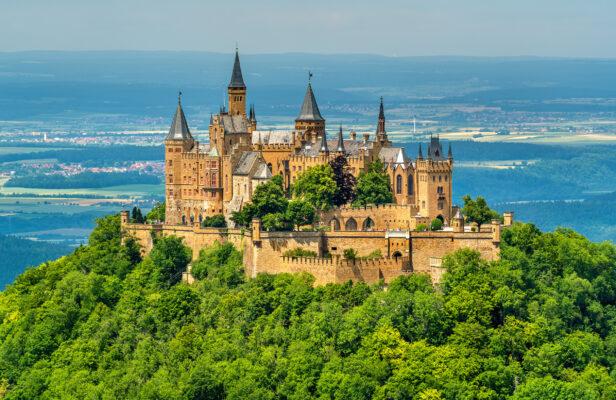 Biesingen Burg Hohenzollern