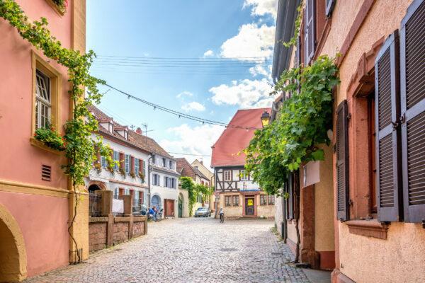 Deutschland Hambach Weinstraße