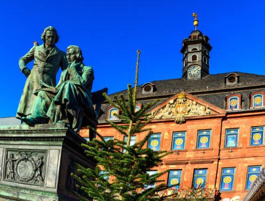 Deutschland Hanau Brüder Grimm