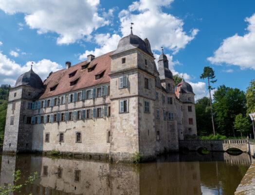 Deutschland Thüringen Wasserburg Mitwitz