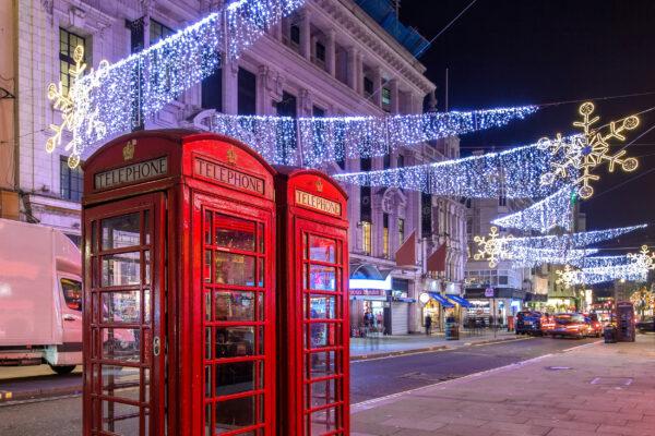 England London Weihnachten