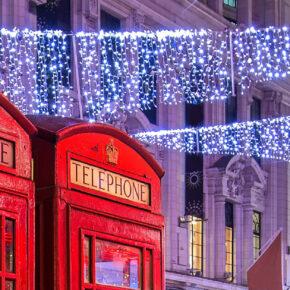 Weihnachtszeit in London: 3 Tage im Hostel inkl. Frühstück & Flug für 48€