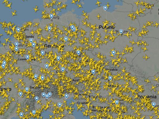 Flightradar24 Übersicht