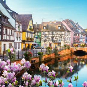 Winter-Wochenende 2021 in Frankreich: 2 Tage Colmar im zentralen 3* Hotel für 33€