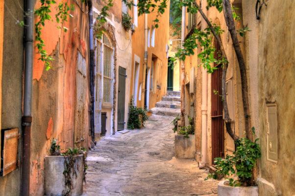 Frankreich Saint Tropez Gasse