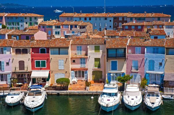 Frankreich Saint Tropez Hafen