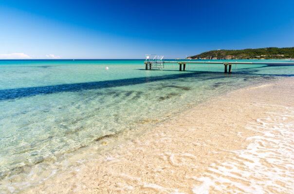Frankreich Saint Tropez Strand