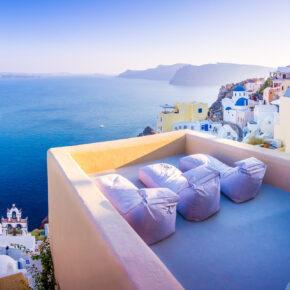 Traumkulisse: 8 Tage Santorini mit TOP 3* Hotel & Flug nur 249€