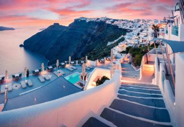 Frühbucher 2022: 8 Tage Santorini mit gutem 4* Hotel, Frühstück & Flug nur 186€