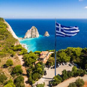 Griechenland: 8 Tage Zakynthos mit Unterkunft in Strandnähe & Direktflug nur 173€