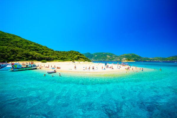 Griechenland Zakynthos Strand
