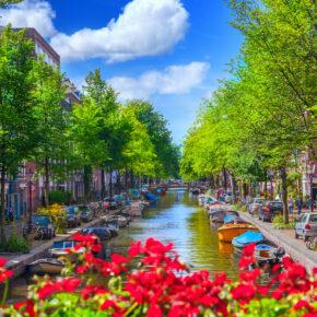 Luxus-Kurztrip nach Amsterdam: 2 Tage im TOP 4* Hotel nur 48€
