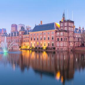 Niederlande: 2 Tage Den Haag im TOP 5* Crowne Hotel mit Frühstück & Sauna für 59€