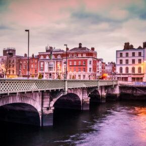 Kurztrip nach Dublin: 3 Tage am Wochenende mit zentraler Unterkunft, Frühstück & Flug nur 60€
