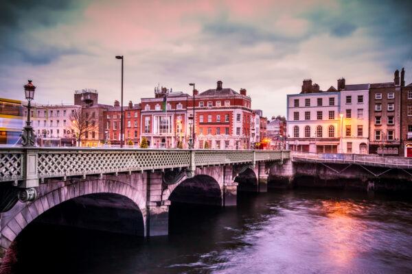 Irland Dublin Grattan Brücke