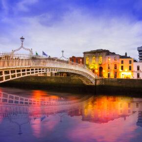 Kurztrip: 3 Tage Dublin mit Unterkunft, Frühstück & Flug nur 71€