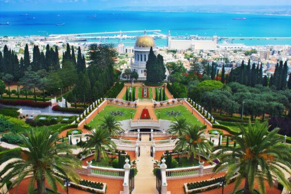 Israel Haifa Bahai Garden