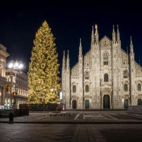 Italien Mailand Nacht