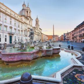 Bella Italia: 3 Tage am Wochenende in Rom im 4* Hotel inkl. Frühstück & Flug nur 73€